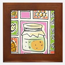Bees12 Framed Tile