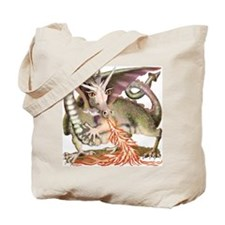 Fire Dragon Tote Bag
