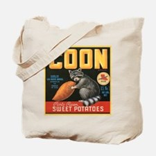 Coon Fruit Crate Label Tote Bag