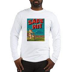 Safe Hit Texas Vegetables Long Sleeve T-Shirt