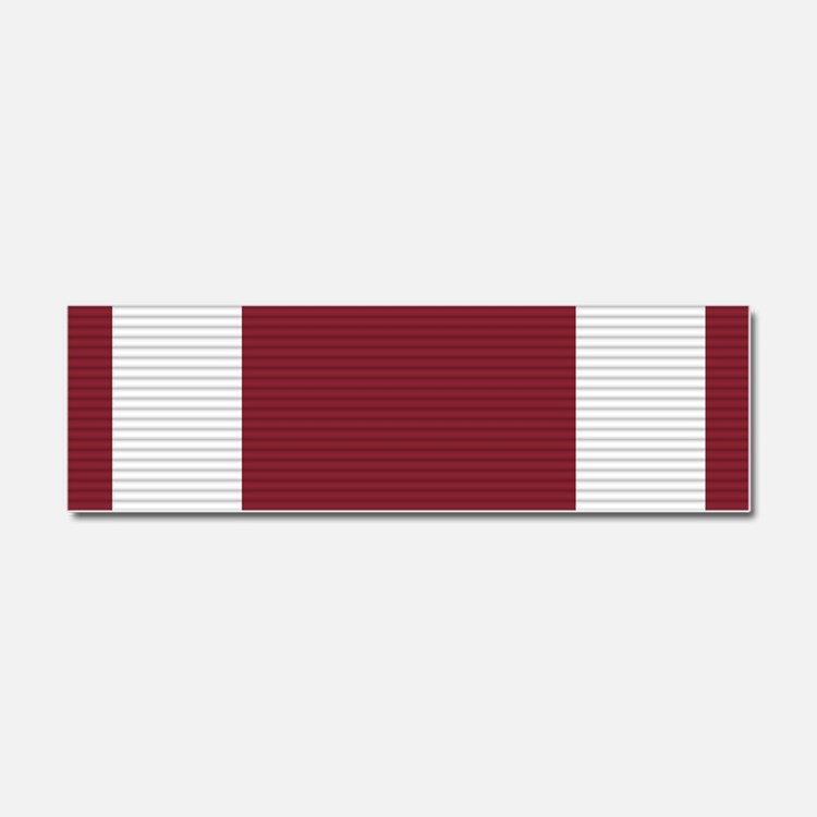 Meritorious Service Medal Car Magnet 10 x 3