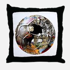 Culture of Spain Soccer Ball Throw Pillow
