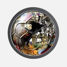 Culture of Spain Soccer Ball Wall Clock