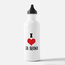 I Heart Da Bronx Water Bottle