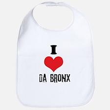 I Heart Da Bronx Bib