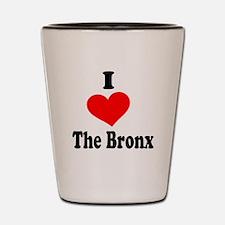 I Heart the Bronx.png Shot Glass
