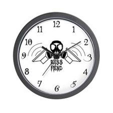 Bass Fiend Wall Clock