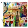 Wine Time Shower Curtain