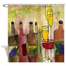 Tuscany Wine Shower Curtain