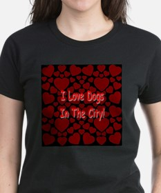 I Love Dogs In The City! Tee