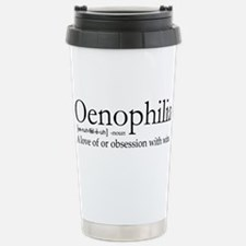 Oenophilia Stainless Steel Travel Mug