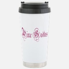 WineGoddessPurple.png Stainless Steel Travel Mug