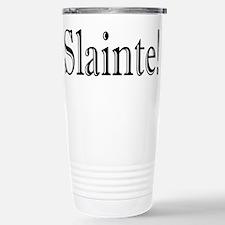 SlainteDark.PNG Stainless Steel Travel Mug