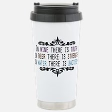 WineTruthBeerStrength.png Travel Mug