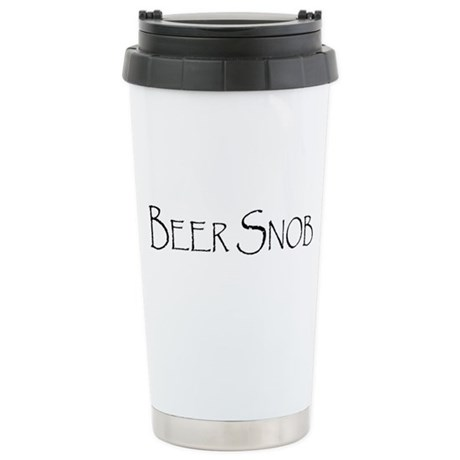 BeerSnobCP.png Stainless Steel Travel Mug