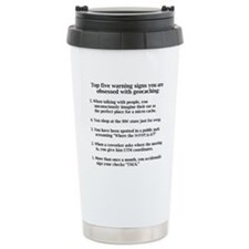 Obsessed with geocaching Travel Mug