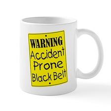 Accident Prone Black Belt Mug