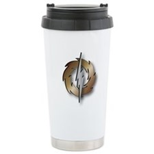 Thunder Wheel Stainless Steel Travel Mug