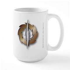 Thunder Wheel Large Mug
