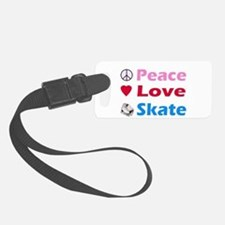 Peace Love Skate Luggage Tag
