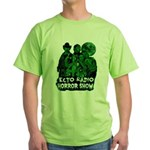 The Ecto Radio Horror Show Green T-Shirt