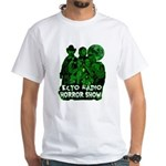The Ecto Radio Horror Show White T-Shirt