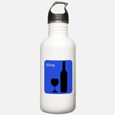 iWineBlue.png Water Bottle