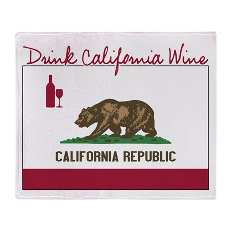 DrinkTexasWine.PNG Throw Blanket