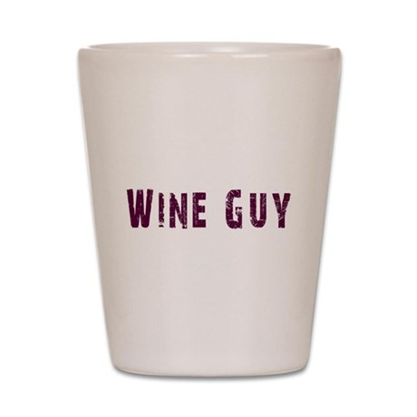 WineGuy.png Shot Glass