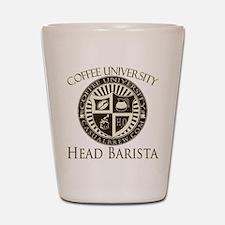 Head Barista Shot Glass