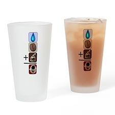 Coffee Formula Drinking Glass