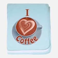 ILoveCoffeeCup.PNG baby blanket