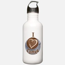ILoveCoffeeCup.PNG Sports Water Bottle