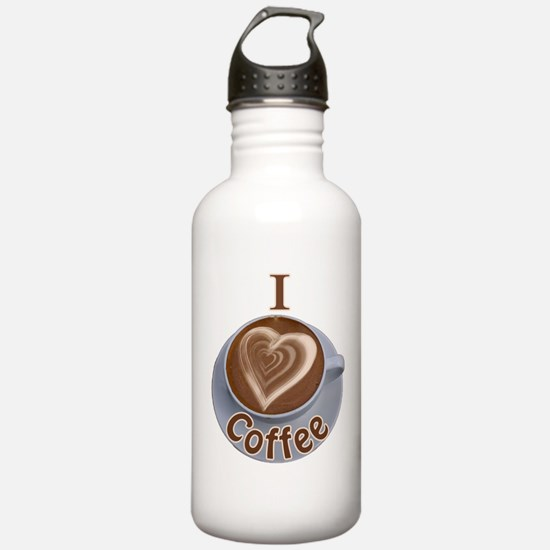 ILoveCoffeeCup.PNG Water Bottle