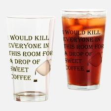 KillForADropOfCoffee.png Drinking Glass