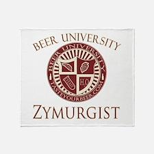 BeerU-Zymurgist.png Throw Blanket