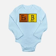 Periodic-Beer.png Long Sleeve Infant Bodysuit