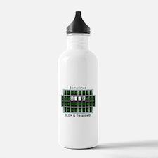 Cute Wheel of answers Water Bottle