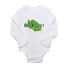 HopAddictCP.png Long Sleeve Infant Bodysuit