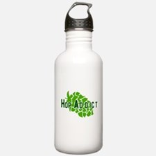 HopAddictCP.png Water Bottle