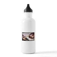 3-Michelangelo.png Water Bottle