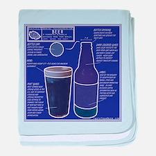 BeerBluePrint.png baby blanket