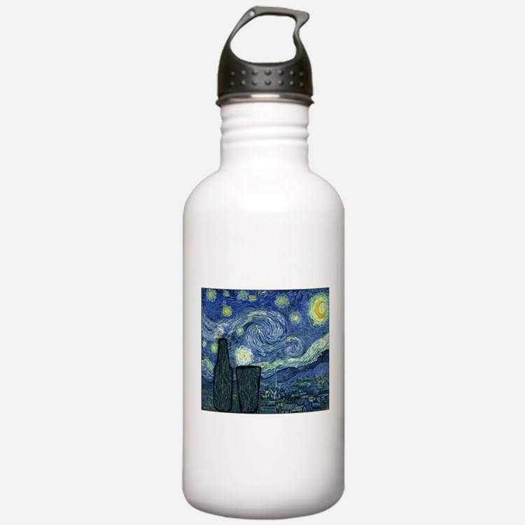 BeeryNight.png Water Bottle