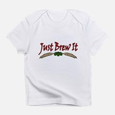 JustBrewIt-White Infant T-Shirt