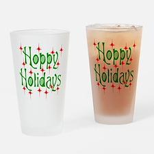 HoppyHolidays.png Drinking Glass