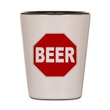 BeerStopSign.png Shot Glass