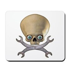 Skull & Crosswrenches Man Mousepad
