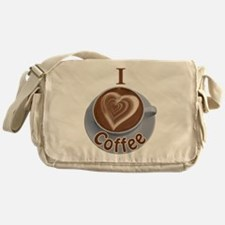 ILoveCoffeeCup.PNG Messenger Bag