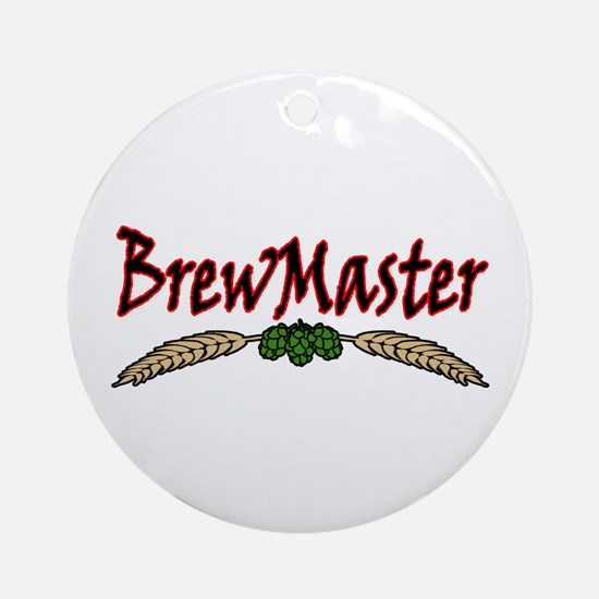 BrewMaster2.png Ornament (Round)