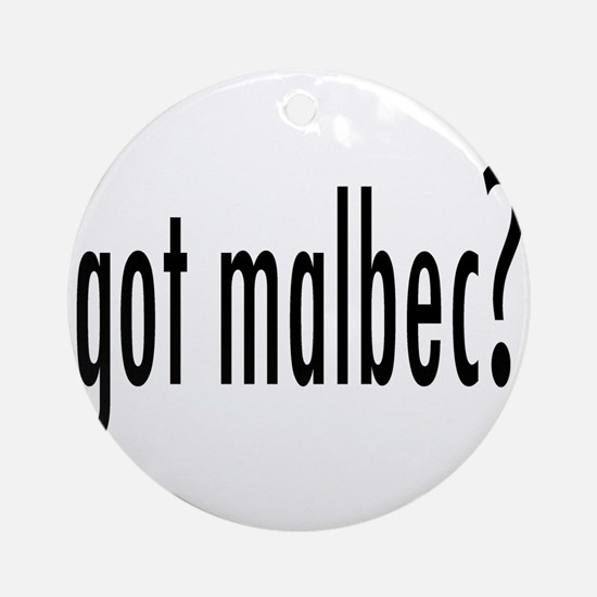 got malbec.png Ornament (Round)